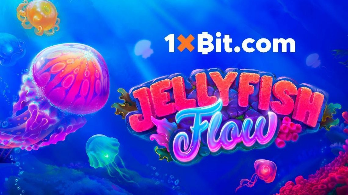 "Have Fun with 1xBit's New Slot Tournament ""JELLYFISH FLOW"""