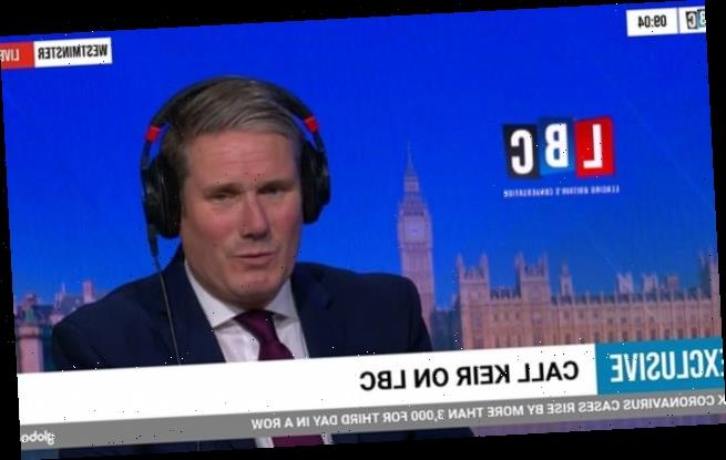 Keir Starmer goes into self-isolation after doing LBC phone-in