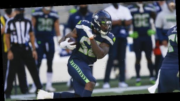 Seahawks RB left with knee injury after suffering dirty hit