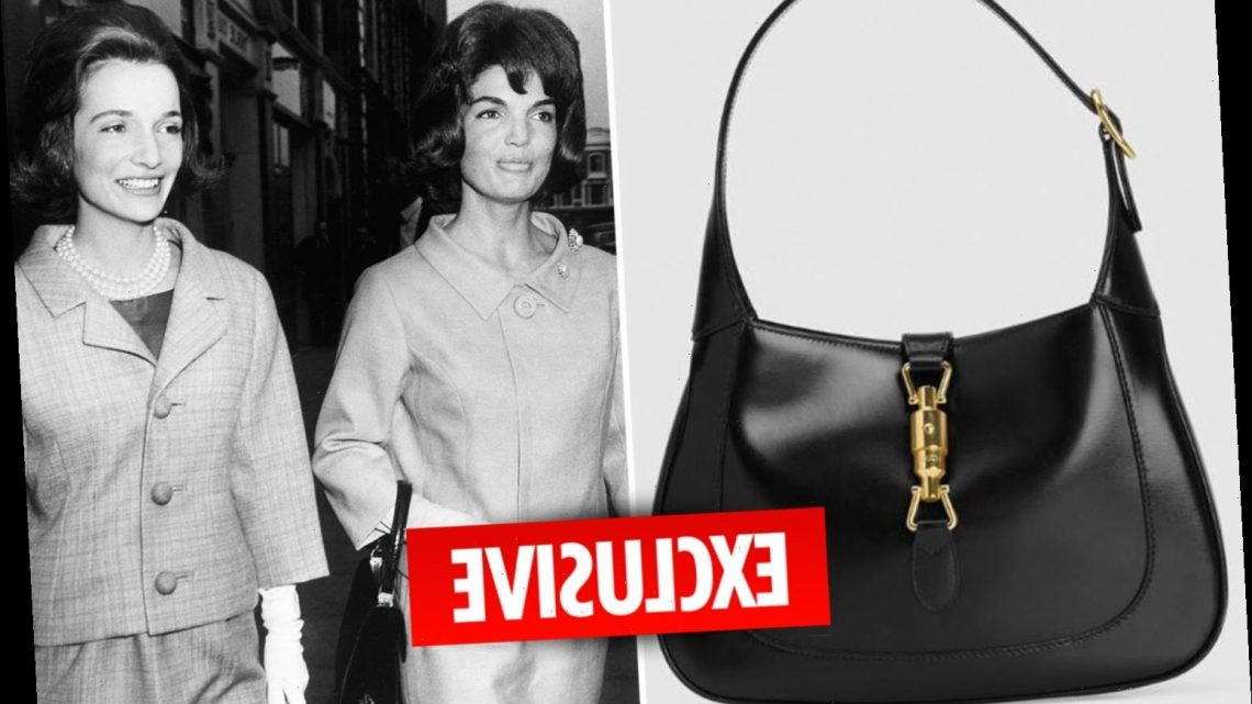 Gucci selling men's handbags inspired by Jackie Kennedy for £1,700 each