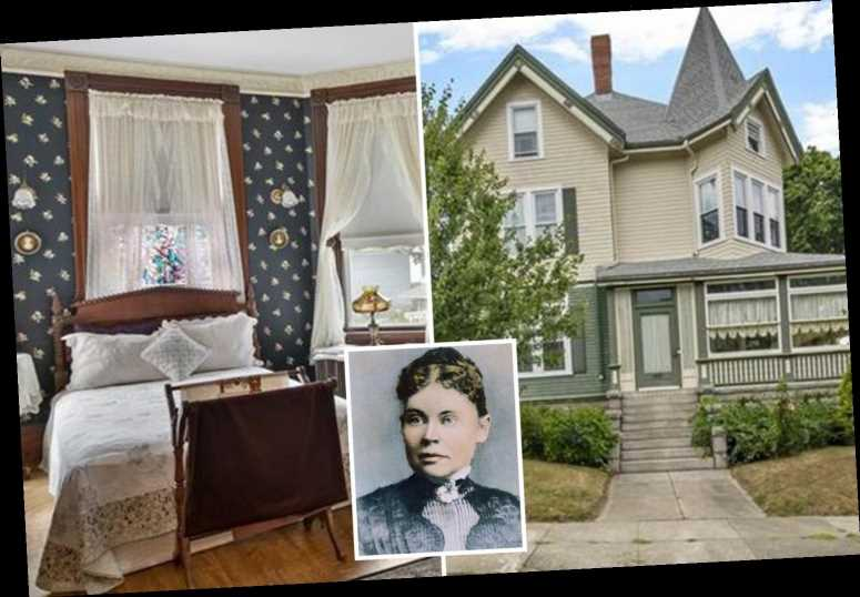 The 7-bedroom house where Lizzie Borden lived after infamously killing her parents with an ax selling for $890k
