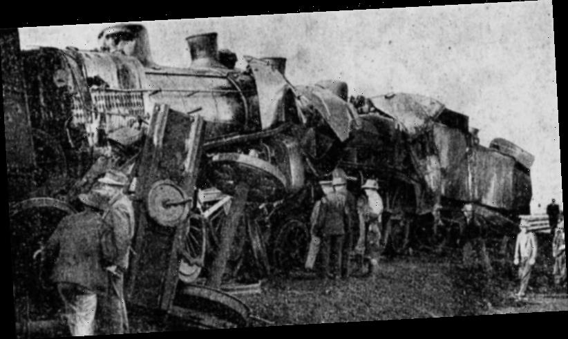 From the Archives, 1951: Amazing escape for 600 passengers as trains collide
