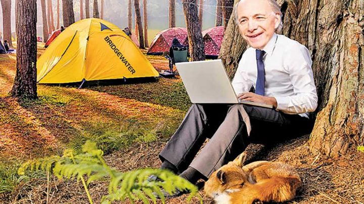 Hedge fund Bridgewater set up tent offices in the woods to beat COVID-19