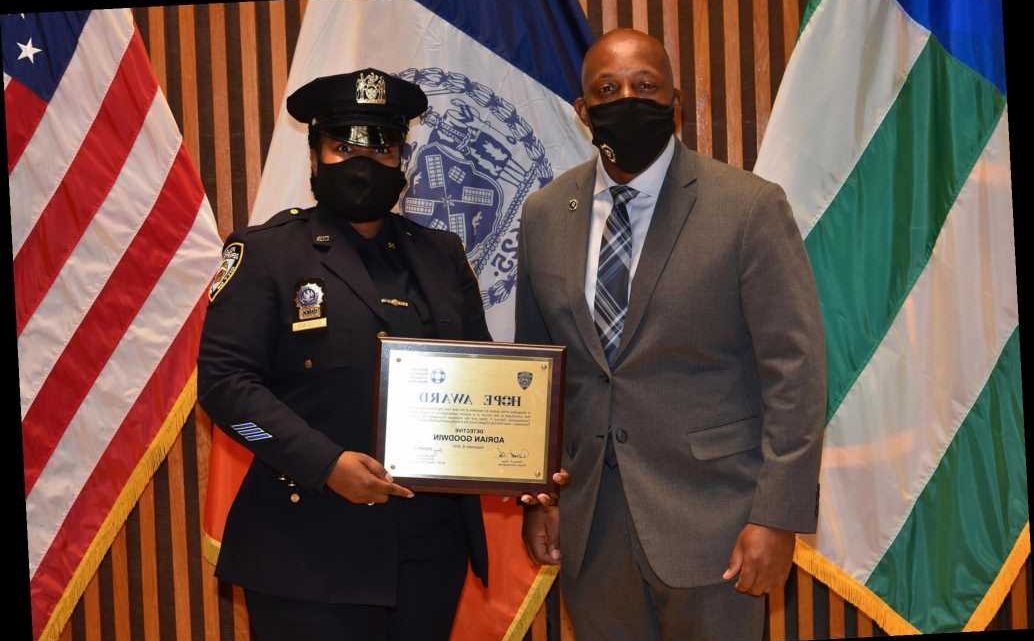 NYPD officers awarded for suicide prevention at One Police Plaza awards ceremony