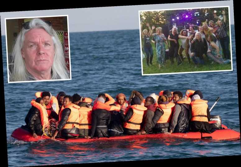 Wedding DJ behind vigilante group of 20 ex-squaddies & boat owners 'patrolling' the Channel to turn back migrant boats