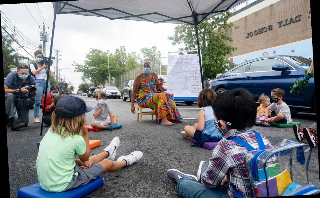 At least 300 city schools will hold some classes outdoors in September