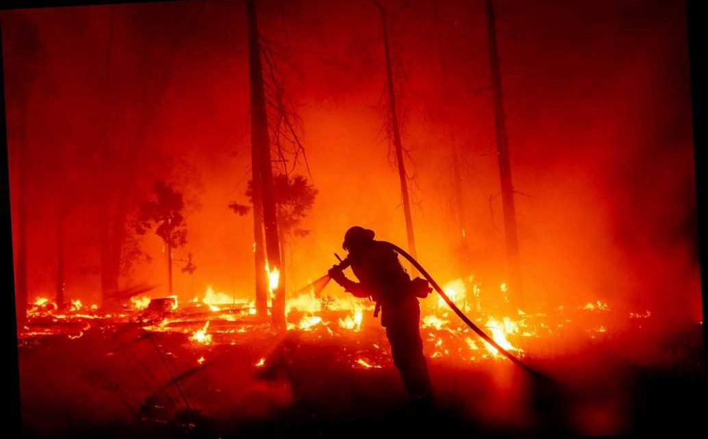 West Coast wildfires continue to rage —but rain could help Oregon, Washington