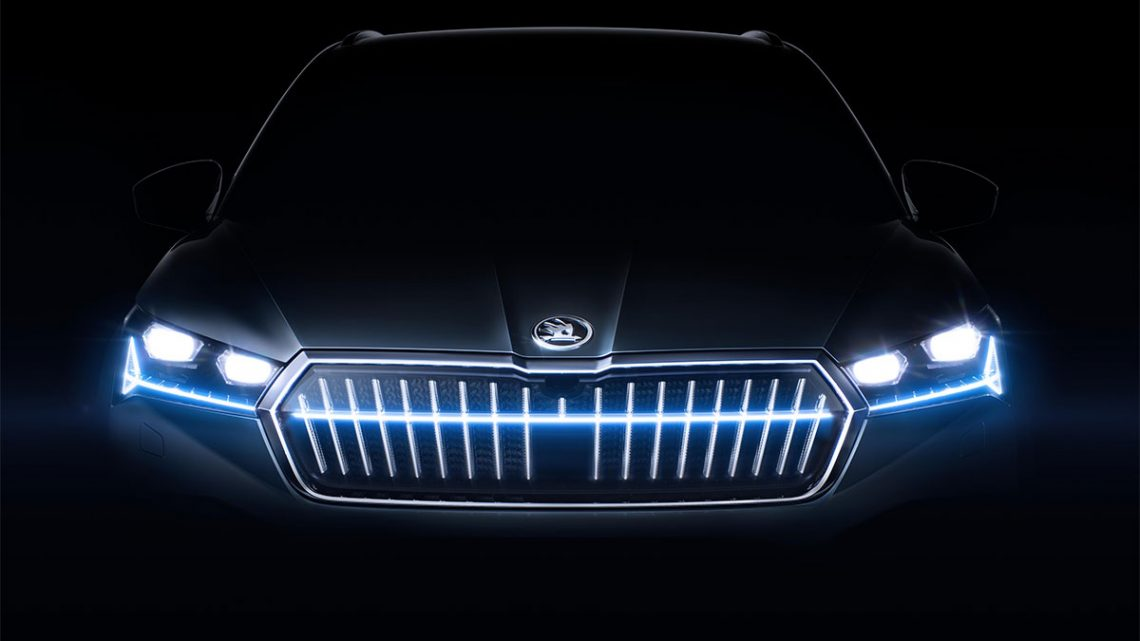 Skoda introduces its first all-electric SUV