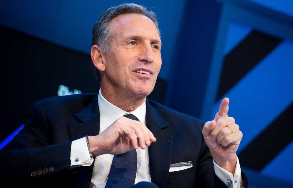 Former Starbucks CEO Howard Schultz, who considered 2020 presidential bid, endorses Joe Biden