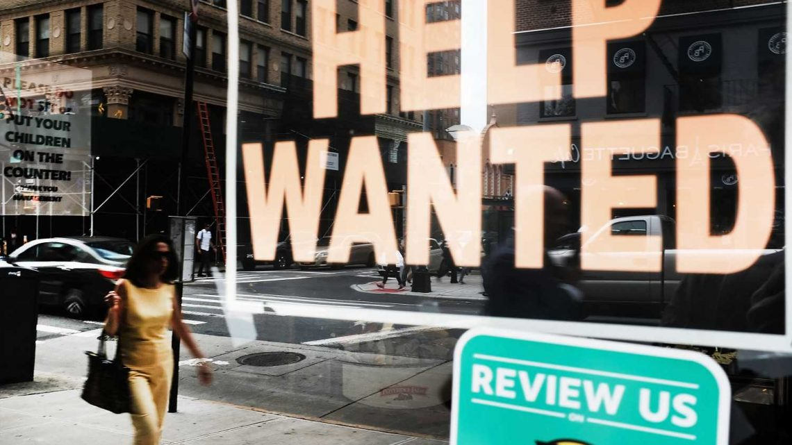 Job openings top expectations even as rate of hiring slows