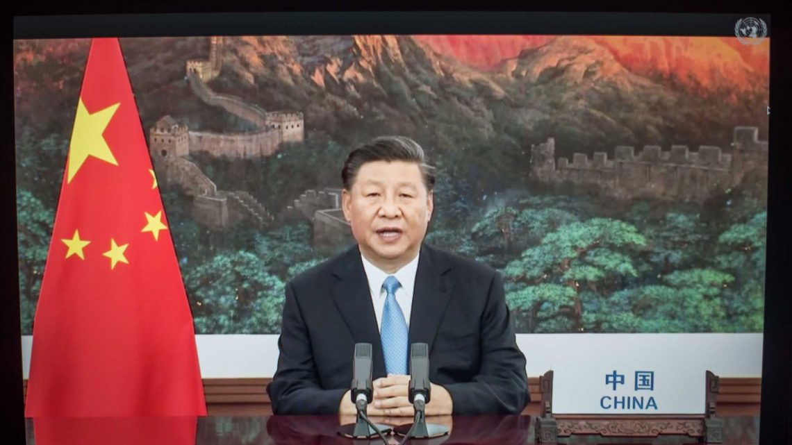 China claims it will be 'carbon neutral' by the year 2060