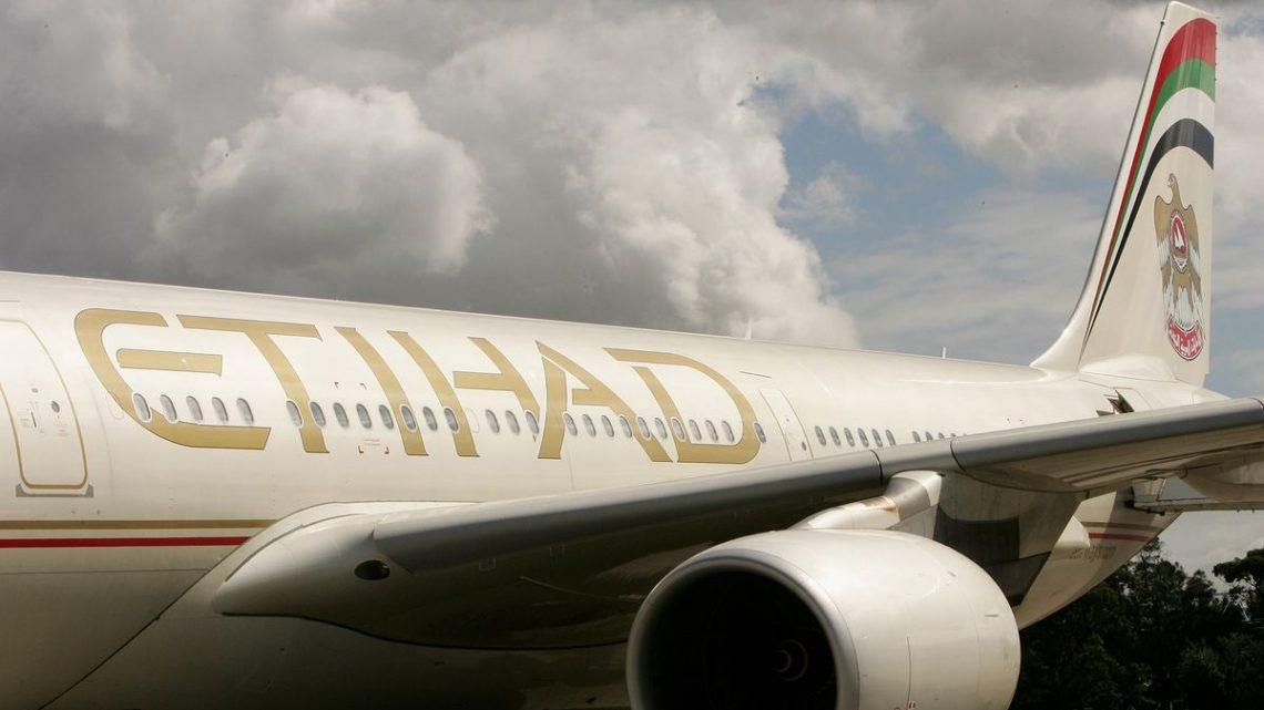 Abu Dhabi's Etihad Airways Extends Staff Wage Cut Until Year-End