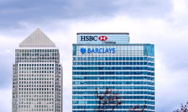 Barclays and HSBC shares fall after reports of alleged suspicious transfers