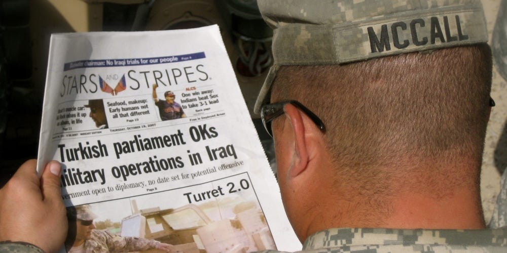 Pentagon pulls order to shutter Stars and Stripes after Trump abruptly decided he wants to keep the military newspaper alive