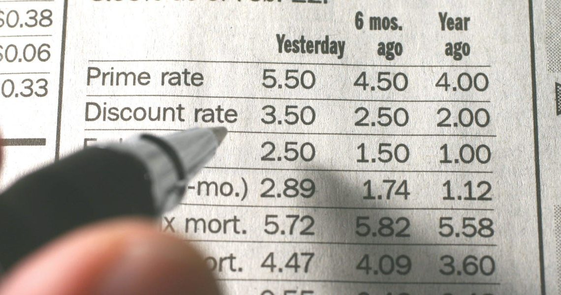 The prime rate is a key interest rate that influences most other rates. Here's how it moves and affects what your loans and credit cards cost