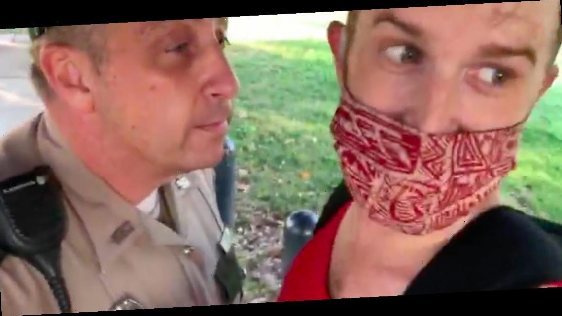 A Tennessee trooper was fired after video footage showed him ripping a man's face mask off