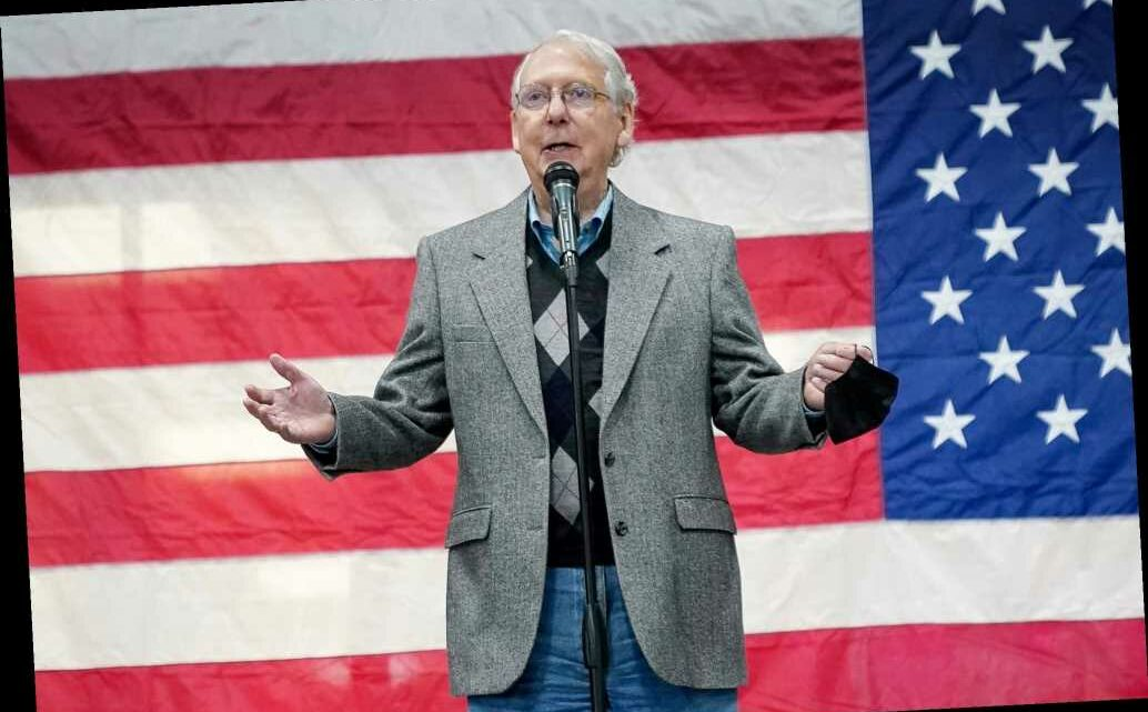Mitch McConnell says GOP has '50-50' chance of holding Senate