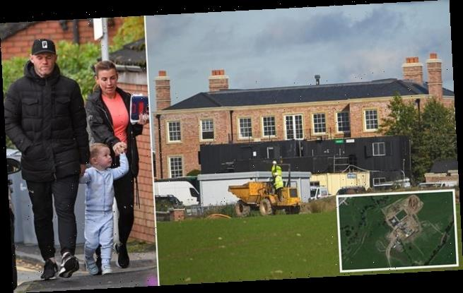 Rooneys' dreams of moving into £20m' mansion before Christmas dashed