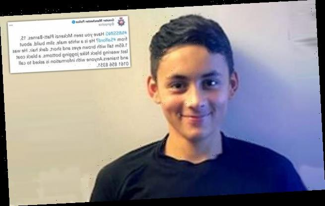 Police search for 15-year-old boy who 'may be in a distressed state'