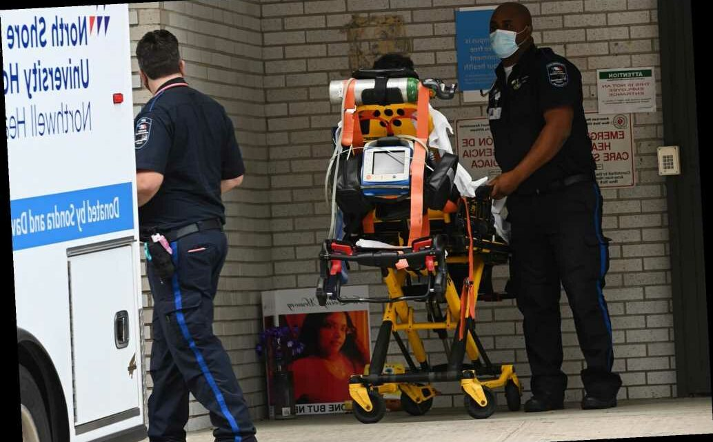 Over 1,000 New Yorkers hospitalized for COVID-19, the state's highest level since June