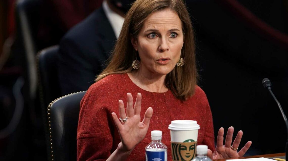 Dozens Of Amy Coney Barrett's Notre Dame Colleagues Call For Halt To Nomination