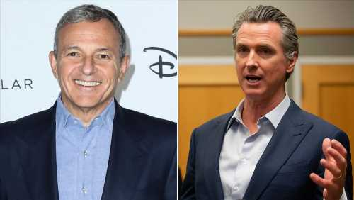 Bob Iger Resigns From Gavin Newsom's Recovery Task Days After Disney Announced 28,000 Layoffs