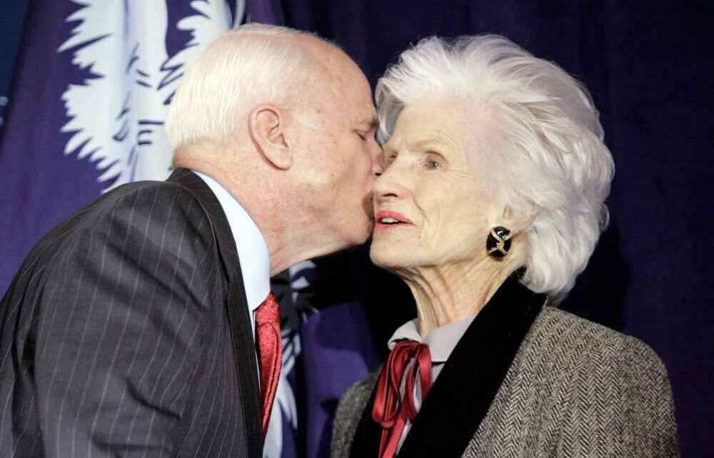 John McCain's Mother Roberta McCain Dies at 108: 'I Couldn't Have Asked for a Better Role Model,' Cindy Says