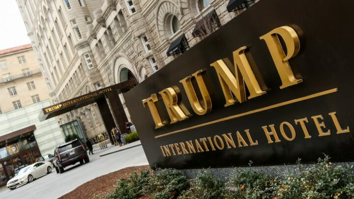 Trump is set to cash in as his Washington, D.C., hotel is sold out for election night