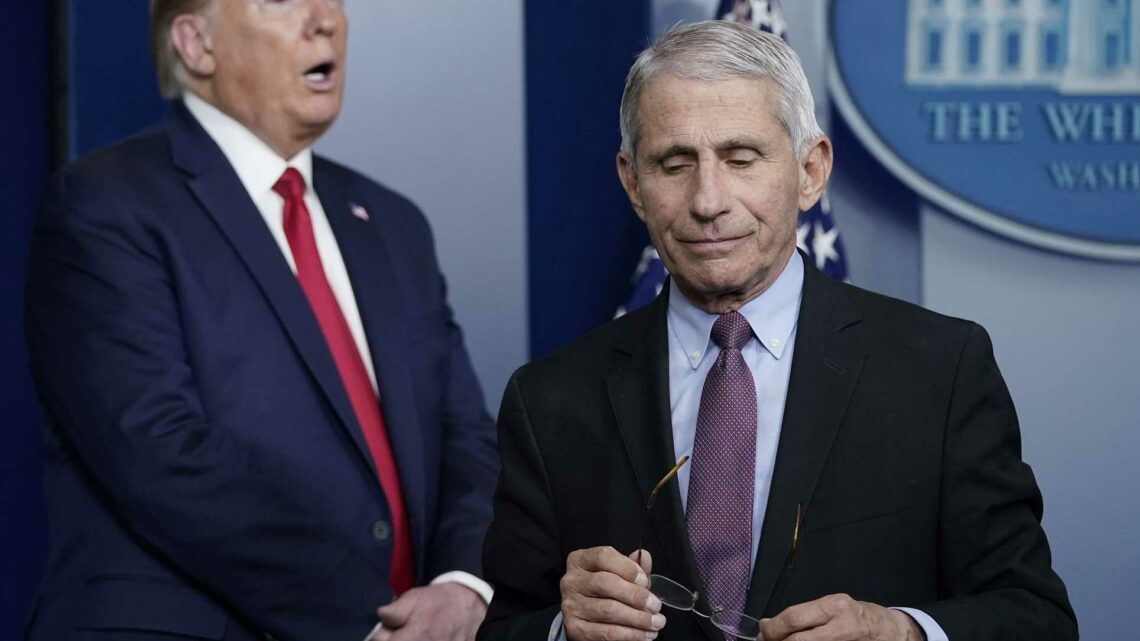 Dr. Anthony Fauci says Trump campaign ad took his comments out of context