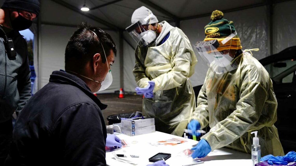 U.S. reports more than 83,000 coronavirus cases, record daily total, as experts warn of difficult winter