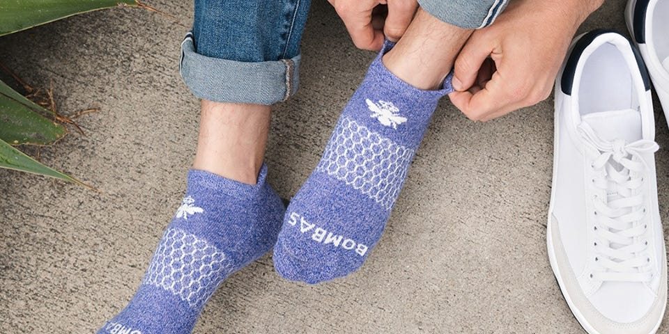 Bombas makes the best socks we've ever worn — the brand has also donated over 41 million pairs to homeless shelters to date
