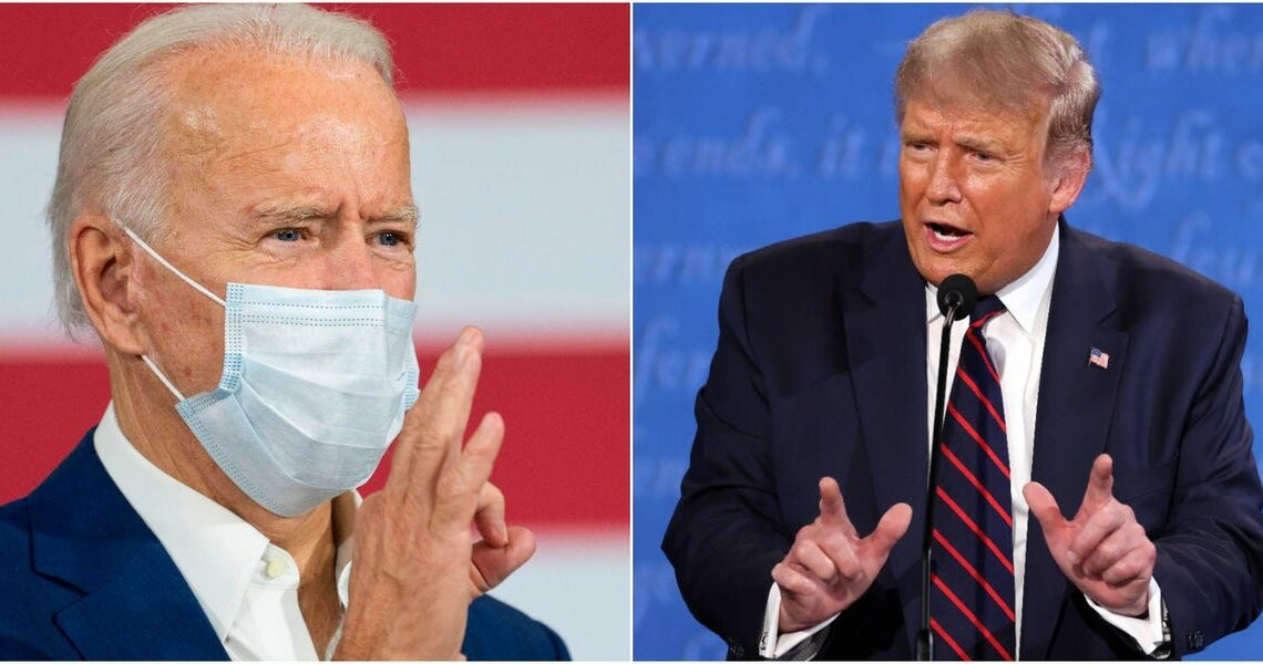 One chart reveals how Biden and Trump differ on their coronavirus plans