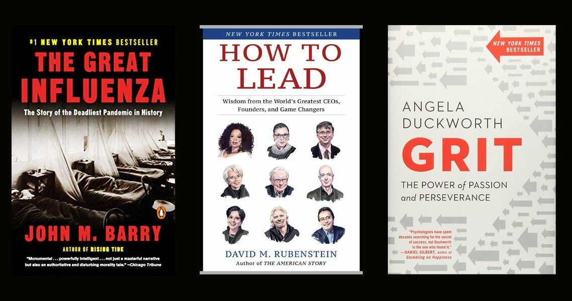 Here are the 32 books our 2020 rising stars of Wall Street think everyone should read