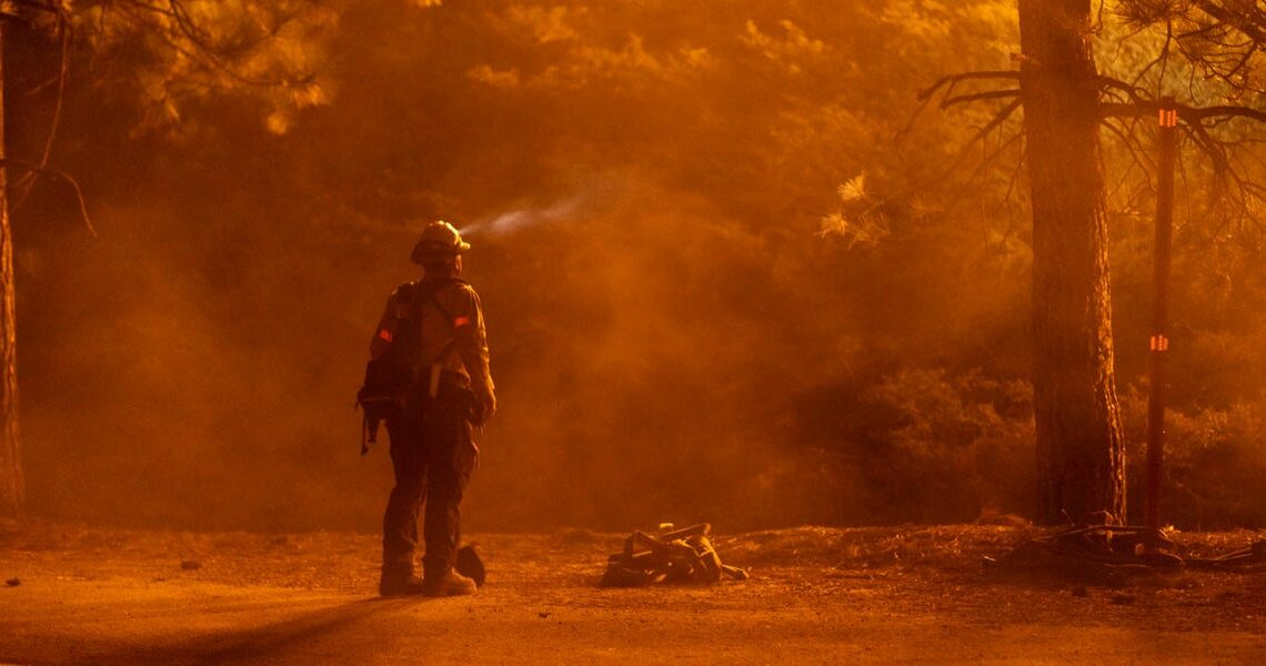 The Trump administration declined California's request for disaster declaration for 6 fires following massive wildfires