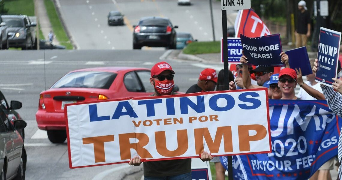 Electoral strength from key minority groups keeps Trump competitive in Florida in the campaign's final stretch
