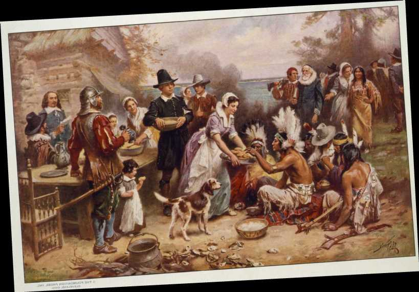 How long did the first Thanksgiving last?