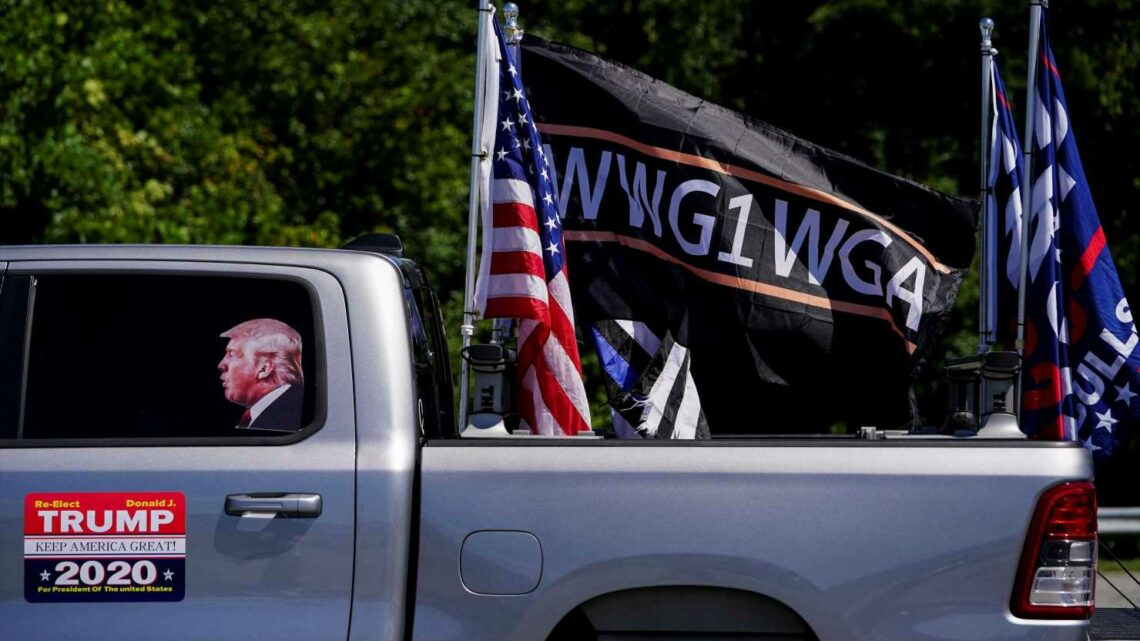 QAnon Backers Behind Pro-Trump Caravans Blocking Roads And Disrupting The Election