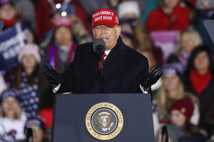 Trump Cracks That He'll 'Never Come Back' to Michigan If He Loses Battleground State to Biden