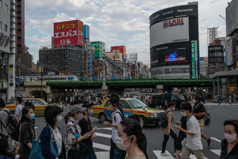 Japan's economy rebounds from record slump as pandemic pain eases