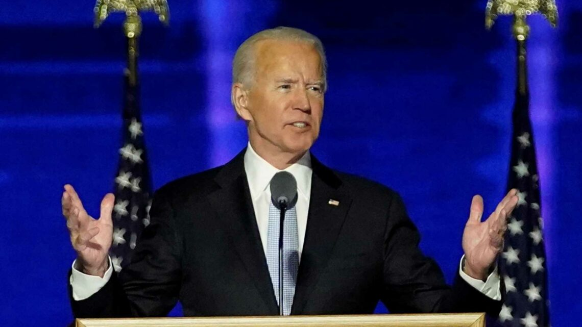 Joe Biden, in his first speech as president-elect, urges unity: 'Time to heal in America'