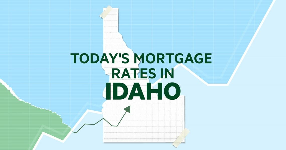 Today's mortgage and refinance rates in Idaho