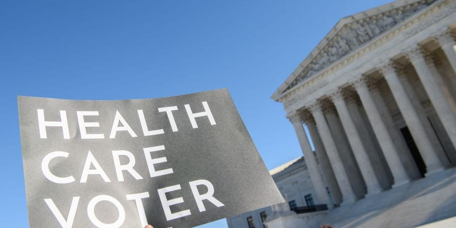 The US Supreme Court hinted that it may uphold Obamacare despite the Trump administration's latest effort to strike it down