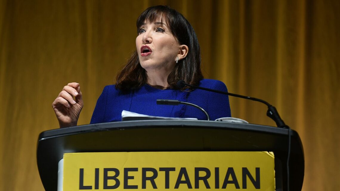 Libertarian candidate Jo Jorgensen declares 'worst' president in US history – and it may surprise you