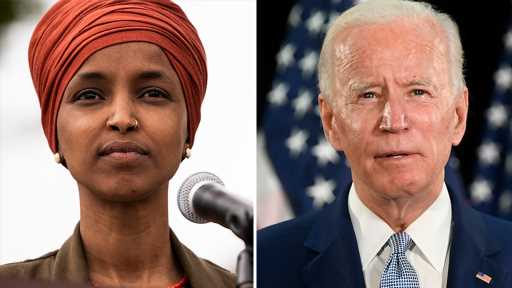 Ilhan Omar underperformed compared to Biden by largest percentage in the country