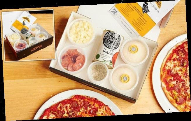 PizzaExpress launches its own DIY pizza delivery kit