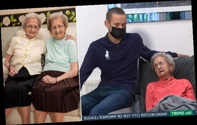 Lil, 96, pays tribute to her twin sister Doris who was killed by Covid