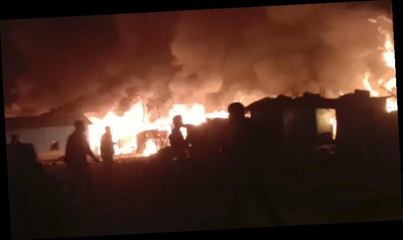 Hundreds homeless after fire guts Rohingya refugee camp