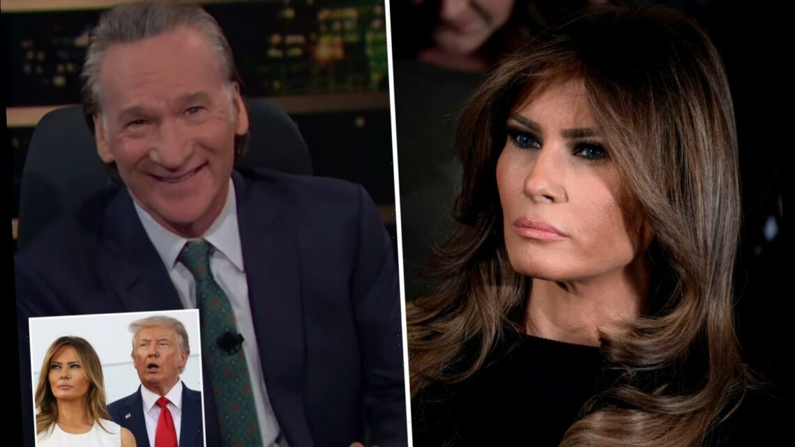 Bill Maher mocks Melania Trump as 'a victim of human trafficking' in shocking joke