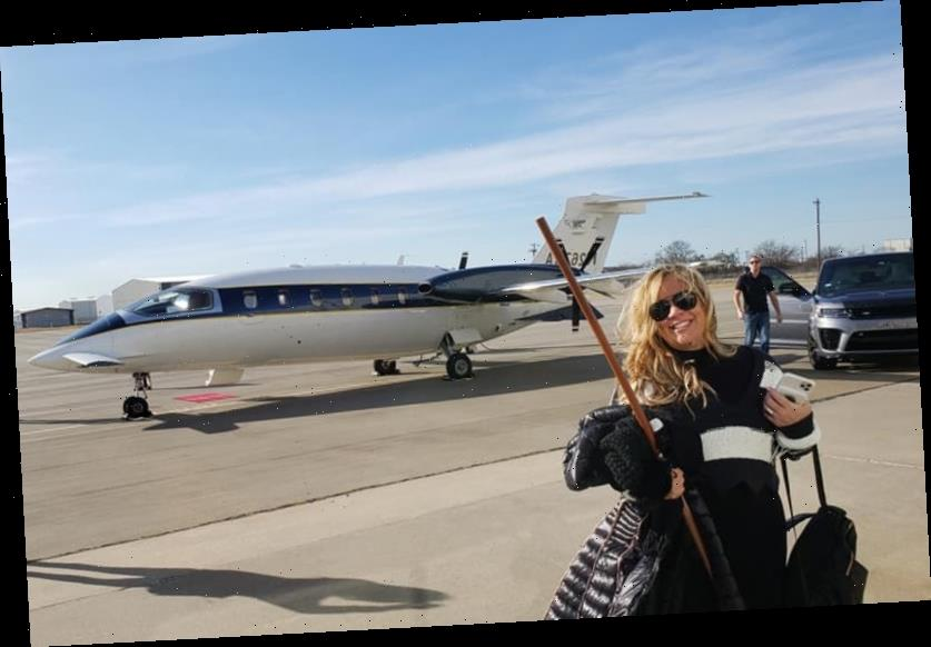 Texas woman flew on private jet to Washington, DC to 'storm the Capitol'