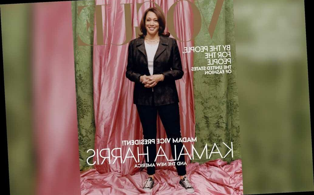 Why Kamala Harris' Vogue cover is trending on social media